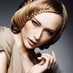 Плетение кос на челке